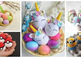 Amigurumi Easter Egg Crochet Patterns