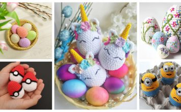 Amigurumi Easter Egg Crochet Patterns