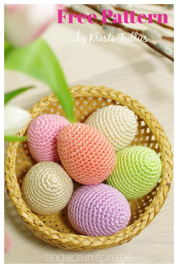 Amigurumi Easter Egg Free Crochet Pattern