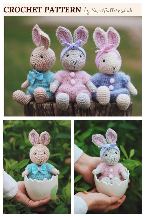 Amigurumi Easter Spring Bunny Crochet Pattern