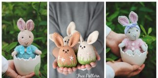 Amigurumi Spring Bunny Crochet Patterns