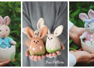 Amigurumi Spring Bunny Crochet Patterns