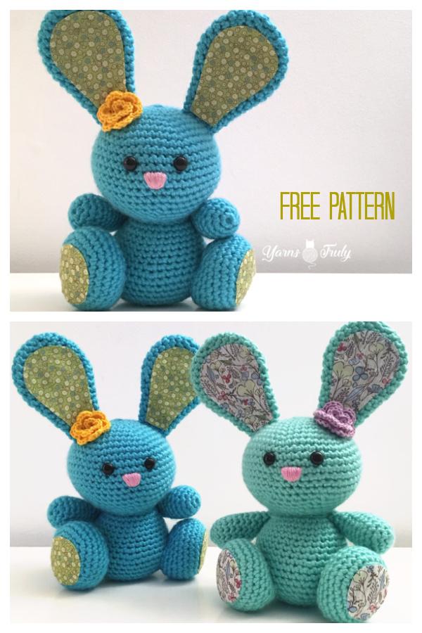 Amigurumi Spring Bunny Free Crochet Pattern