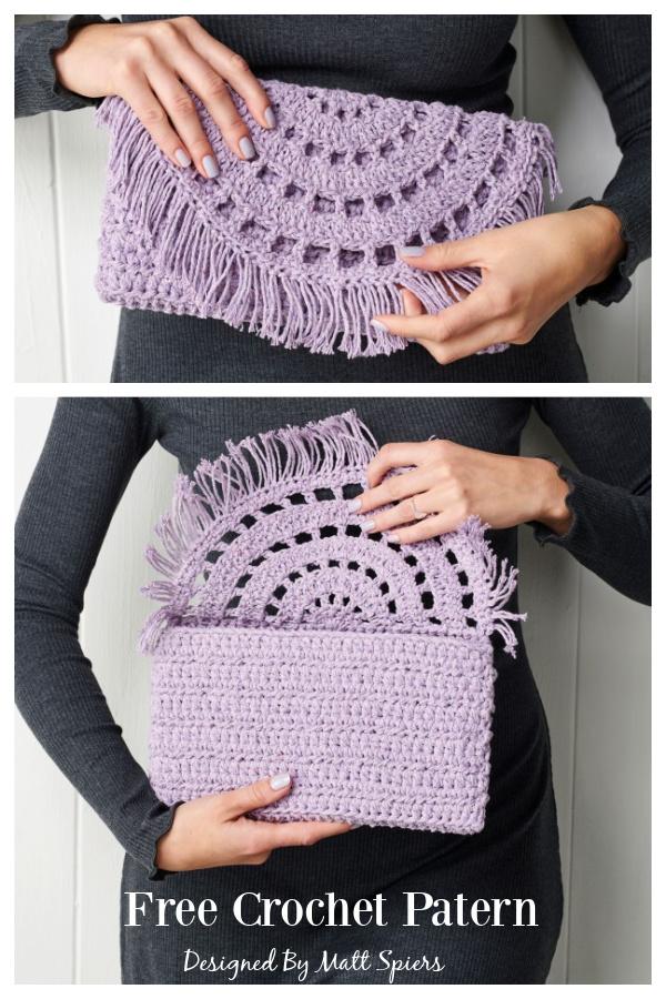 Clutch Bag Free Crochet Pattern