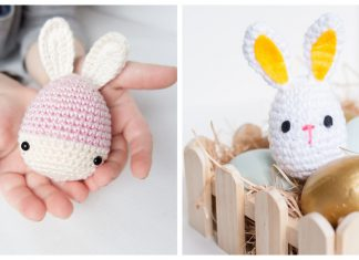 Easter Bunny Eggs Free Crochet Pattern