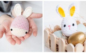 Easter Bunny Eggs Free Crochet Pattern