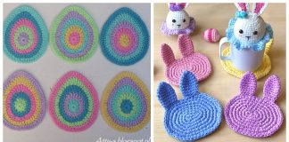 Easter Coaster Crochet Patterns