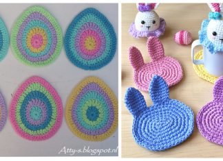 Easter Coaster Crochet Patterns
