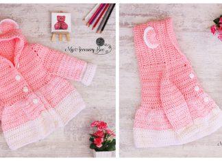 Easy Crochet Teddy Bear Cardigan Free Pattern