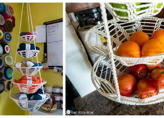 Hanging Baskets Free Crochet Pattern