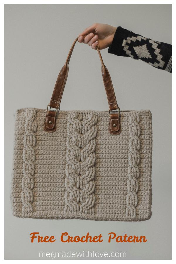 Matilda Tote Bag Free Crochet Pattern
