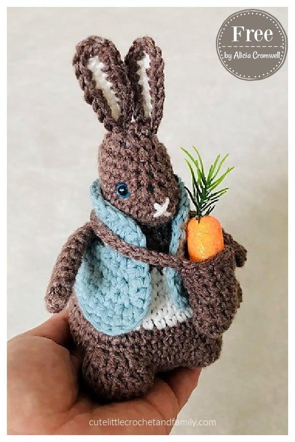 Rabbit Amigurumi Free Crochet Pattern