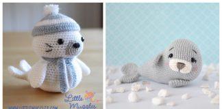 Seal Amigurumi Free Crochet Pattern