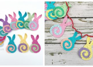 Swirly Easter Bunny Free Crochet Pattern