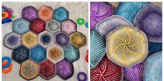 Swirly Hexagon Crochet Pattern