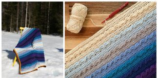 The Pure Shores Blanket Free Crochet Pattern and Video Tutorial