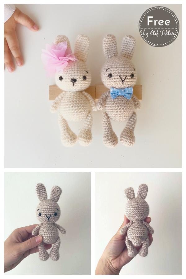 Zipzip Bunny Amigurumi Free Crochet Pattern