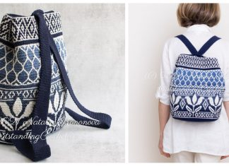 Amazing Tapestry Backpack Crochet Pattern