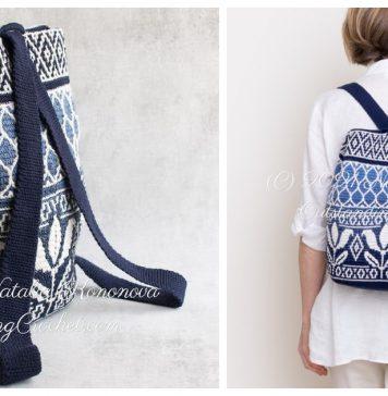 Amazing Tapestry Backpack Crochet Pattern