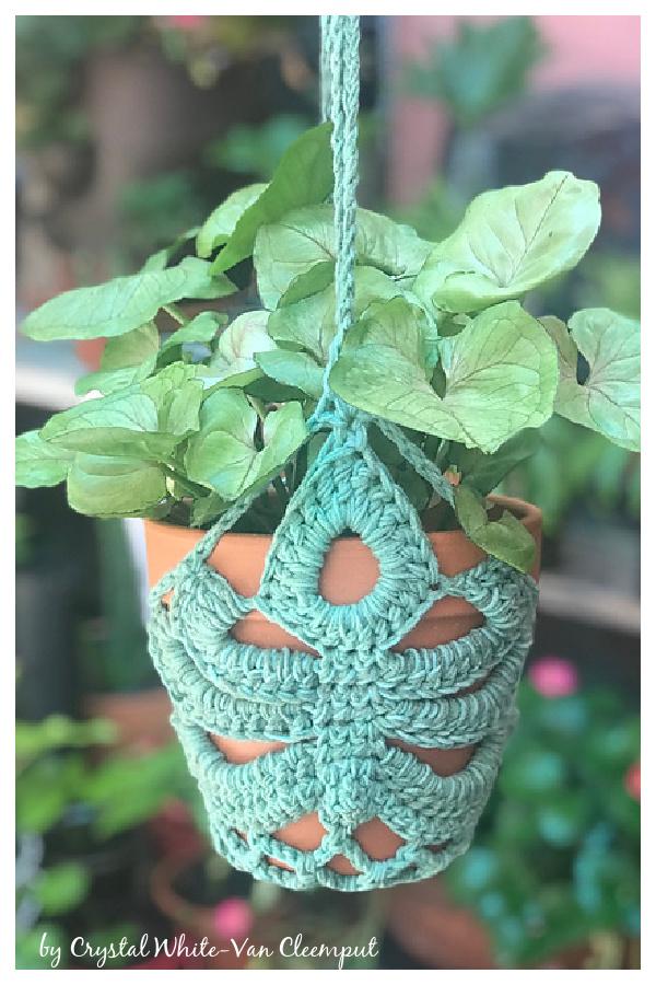 How to Crochet Monstera Leaf Plant Hanger