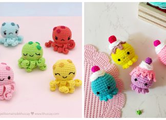Mini Octopus Amigurumi Free Crochet Pattern