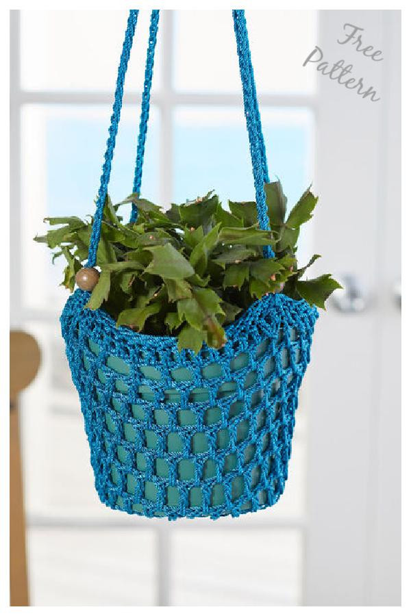 Plant Hanger Free Crochet Pattern