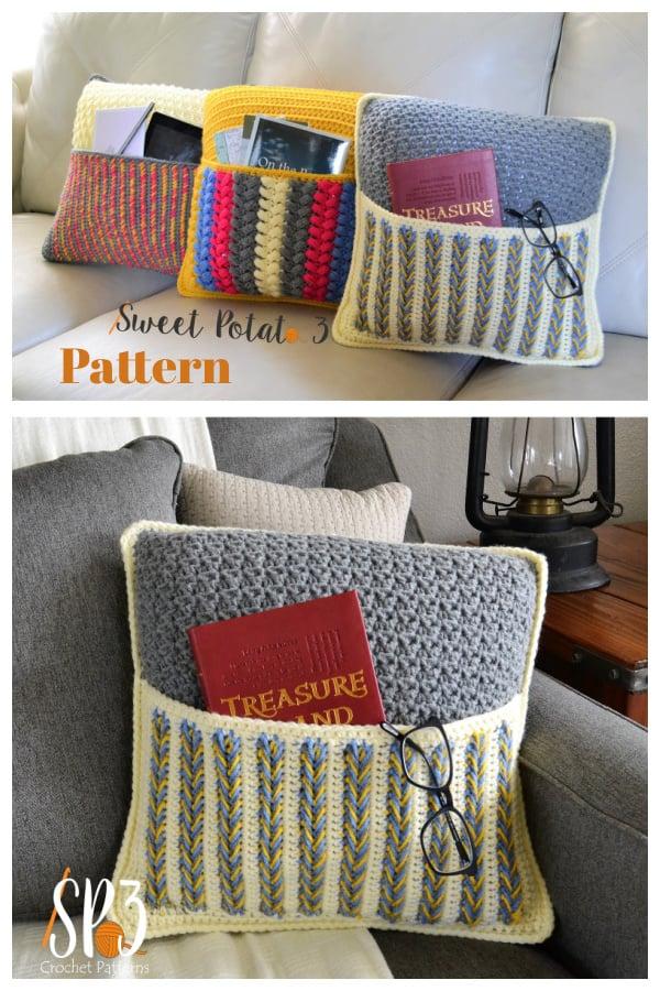 Pocket Pillows Crochet Pattern