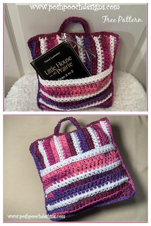 Pocket Pillows Free Crochet Pattern