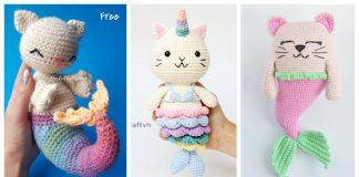Purrmaid Mermaid Cat Amigurumi Crochet Patterns