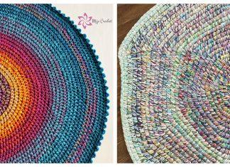 Scrap Rug Free Crochet Pattern