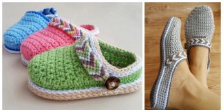 Slipper Clogs Crochet Patterns
