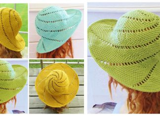 Sunsational Sun Hat Free Crochet Pattern