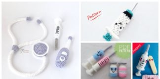 Syringe Amigurumi Crochet Patterns