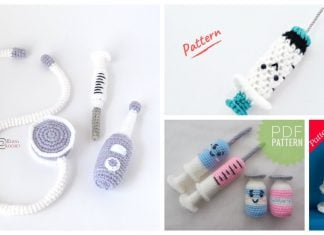 Syringe Amigurumi Crochet Patterns