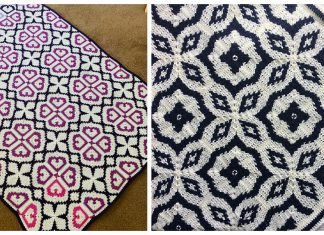Tapestry Square Blanket Crochet Patterns