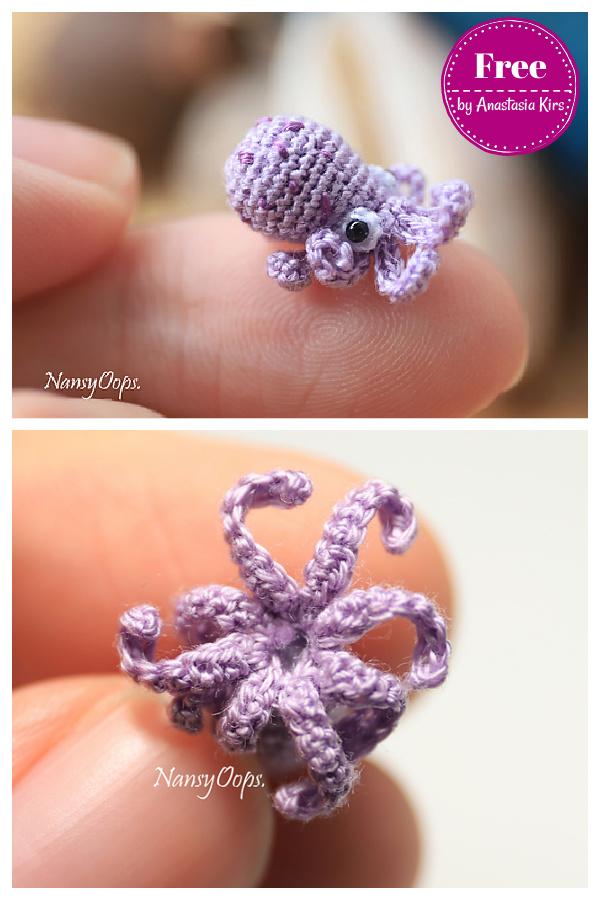 Tiny Octopus Amigurumi Free Crochet Pattern