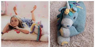 Unicorn Pillow Crochet Patterns