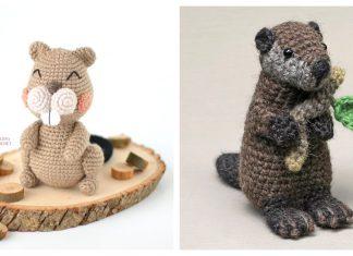 Amigurumi Beaver Crochet Patterns