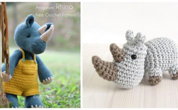 Amigurumi Rhino Free Crochet Pattern