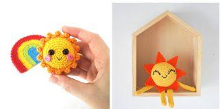 Amigurumi Sun Free Crochet Pattern