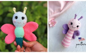Butterfly Rattle Crochet Patterns
