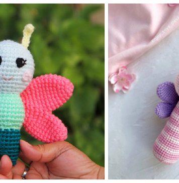 Butterfly Rattle Crochet Patterns