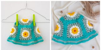 Daisy Flower Bucket Hat Free Crochet Pattern