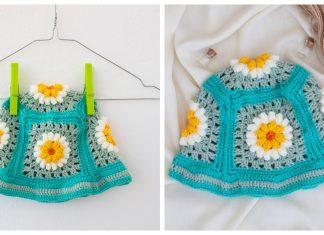 Daisy Flower Bucket Hat Free Crochet Pattern