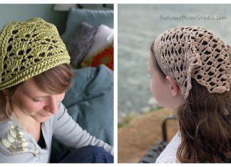Kerchief Free Crochet Patterns
