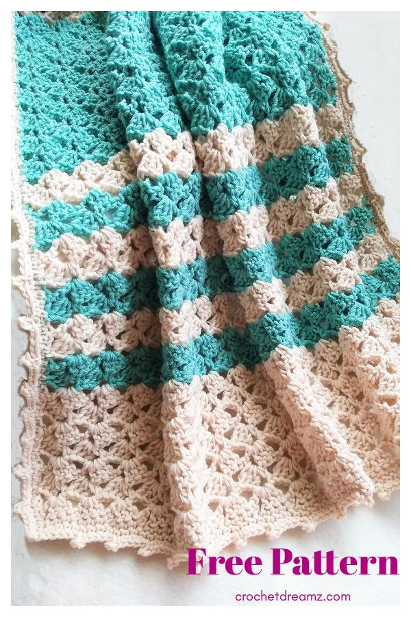 Lacy Blanket Free Crochet Pattern