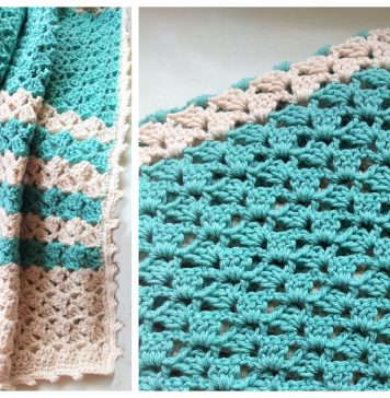 Lacy Blanket Free Crochet Pattern
