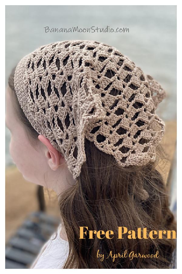 Marietta padrão de crochê sem lenço de renda