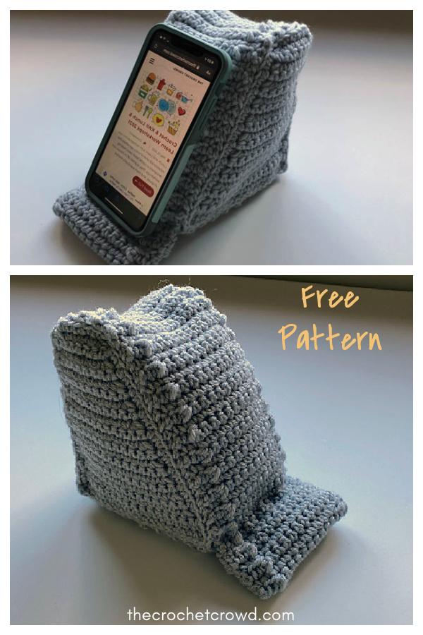 Mobile Alert Cell Phone Holder Free Crochet Pattern