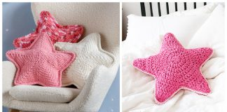 Star Pillow Free Crochet Pattern